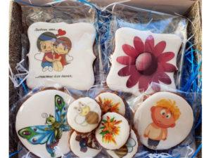 Набор имбирного печенья (5шт)