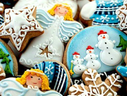 Имбирные пряники к Новому году и Рождеству